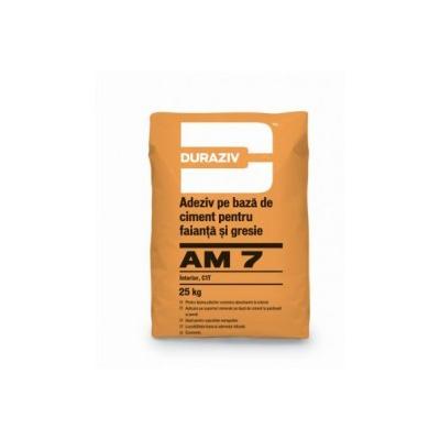 Adeziv duraziv am7 gresie faianta interior 25kg
